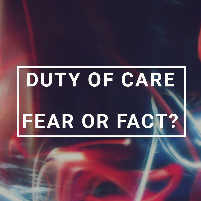Duty Of Care Blog Cover